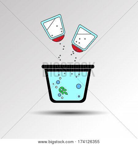 cooking saucepan kitchen food illustration object vector