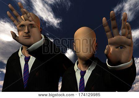 Phantasy Human  3D Render