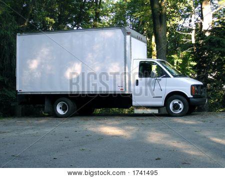 White Box Truck