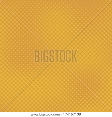 Yellow abstract background with half tone effects. Dots texture with place for text vector illustration.