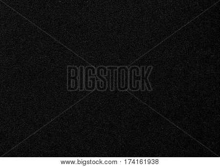 Black artificial leather texture use for background