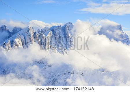 San Pellegrino View On The Dolomites