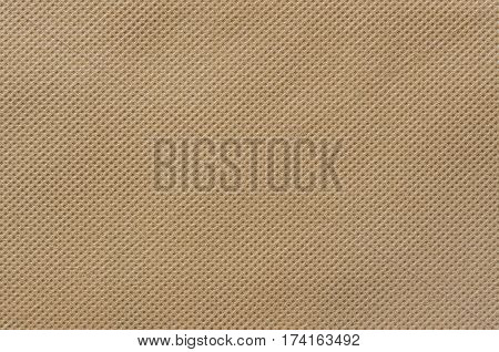 Brown nonwoven fabric texture use for background