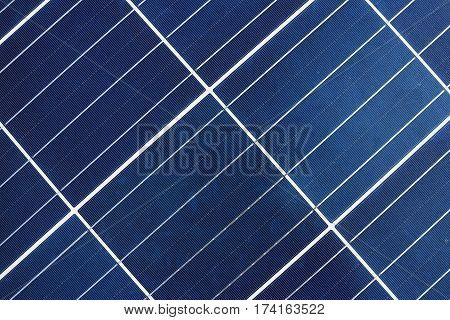 Solar Cell Panel Polycrytalline type Background and Texture