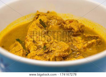 Closeup To Northern Thai/ Lanna Pork Stew