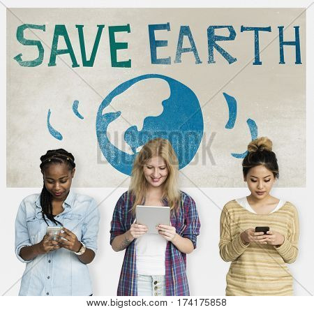 Save Earth Environmental Conservation Ecology