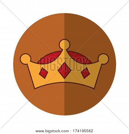 wise man crown character vector illustration design