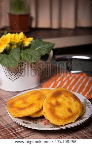 Flatbread Made Of Corn Flour