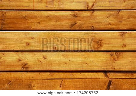 Varnished pine wood boards texture. Good to use as natural background.