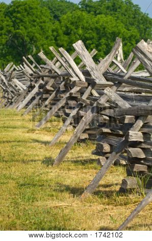 Split Rail Fence Detail
