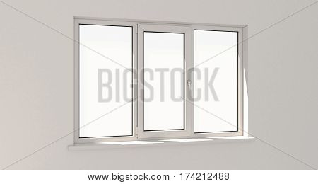 Window. Wall. Aluminum Window. White Window. Pvc Window.
