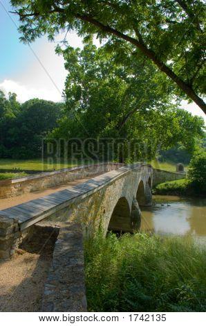 Burnside Bridge At Sharpsburg