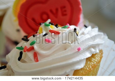 Biscuit cake , sweets. Candy. Colorfull. Hapy