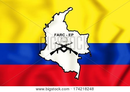 +++flag_of_the_farc-ep