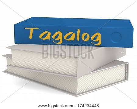 Hard Cover Blue Books With Tagalog Word