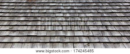 wooden roof tile texture