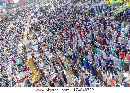 Biswa Ijtema At Tongi, Dhaka, Bangladesh.