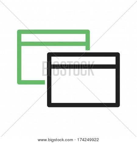 Programming, windows, web icon vector image. Can also be used for web interface. Suitable for use on web apps, mobile apps and print media.