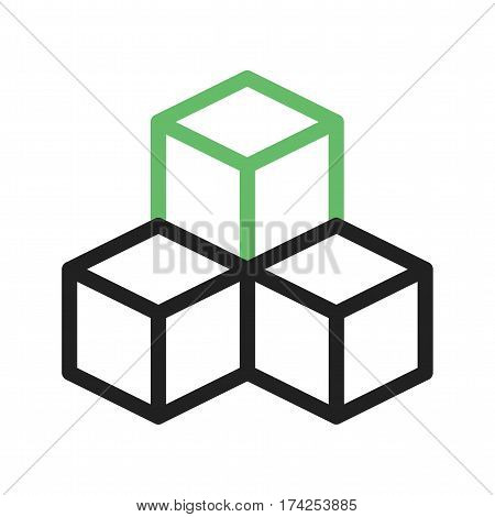 Infrastructure, construction, engineering icon vector image. Can also be used for community. Suitable for mobile apps, web apps and print media.