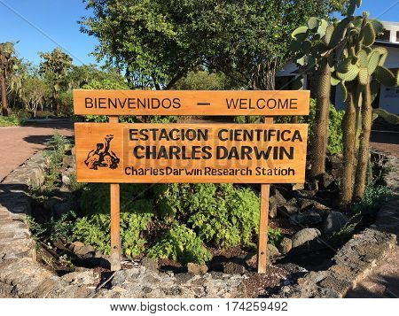 Charles Darwin Research Station