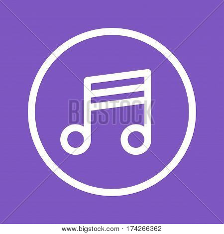 Player, music, sound icon vector image. Can also be used for web interface. Suitable for use on web apps, mobile apps and print media.