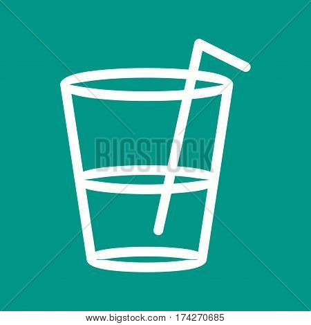 Drinks, soft, water icon vector image. Can also be used for autumn. Suitable for mobile apps, web apps and print media.