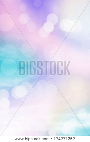 Pastel rainbow colored abstract background