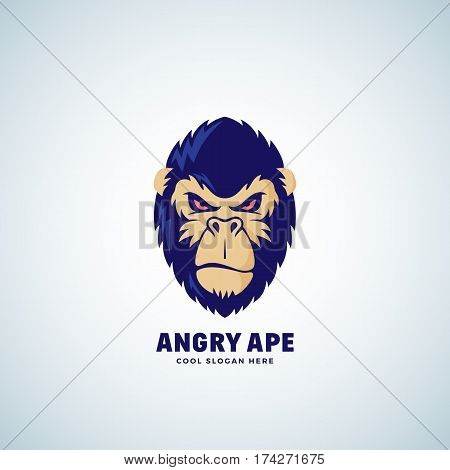 angry ape abstract vector photo free trial bigstock