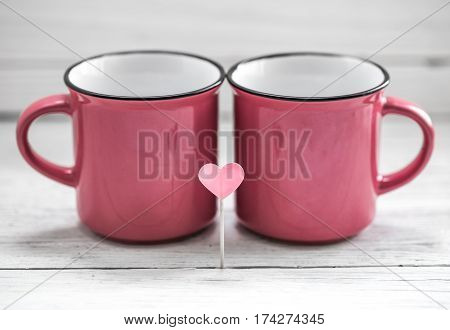 Cup With Heart On A Stick,
