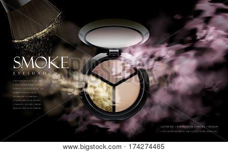 Cosmetic Smoke Eyeshadow