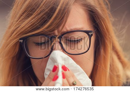 Seasonal allergies and health problems / issues.