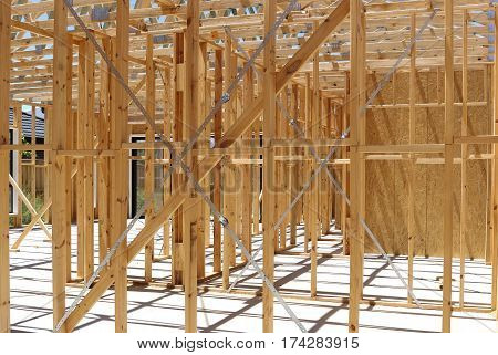 Timber frame wall construction details Melbourne Australia