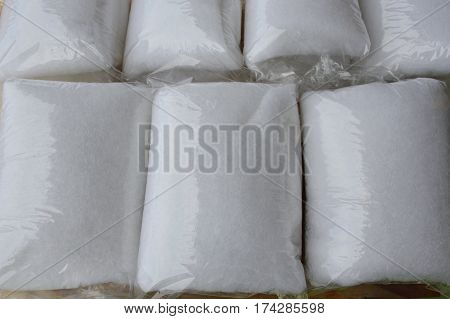 fiber glass for filter fish tank packing in plastic bag