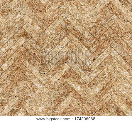 Herringbone shavings parquet seamless floor texture background