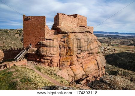 Peracence Castle, Teruel, Aragon, Spain