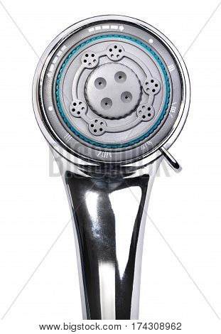 Head of shower isolated on a white background