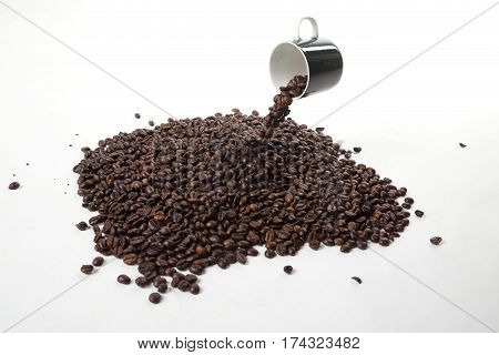 Levitating Coffee Beans
