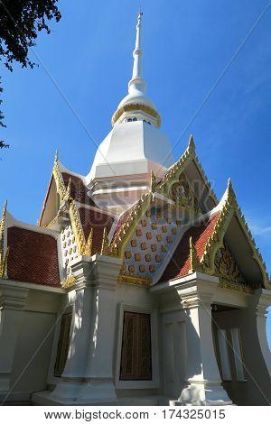 White Temple near Hua Hin in Thailand