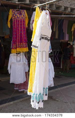 Woman Clothing Display