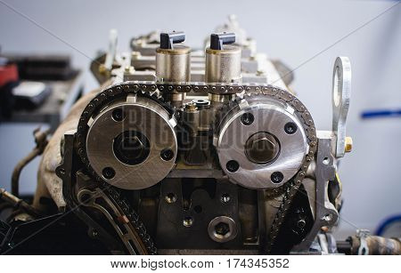 Disassembly, repair and restore any car engines