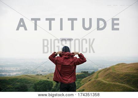 Simplicity Attitude Be Positive Word