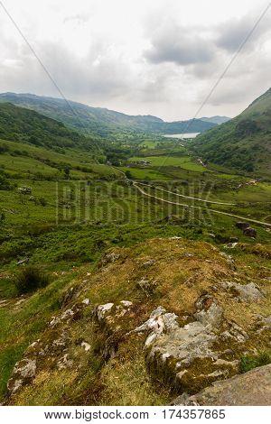 Nant Gwynant Pass Snowdonia National Park Gwynedd Wales United Kingdom