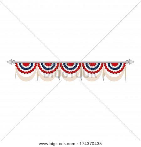United States patriotic symbol icon vector illustration graphic design