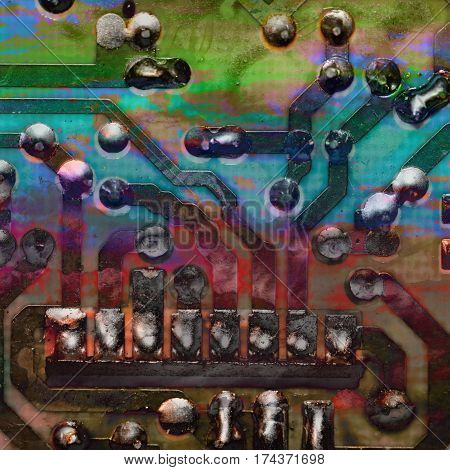 Texture Circuit Board, Ladder, Circuit Board, Soldering Stations