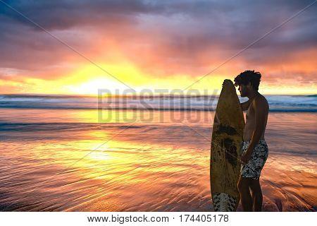 Stunning Sunrise Over Ocean