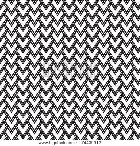 black heart shape with white circle inside pattern background vector illustration image