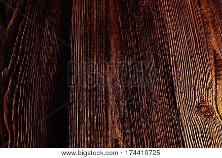 Brown old wood pattern texture background. Gray wooden floor of tabletop,white wood board sepia tones. Desk made of wood and natural textures. Texture old dry wood cracks