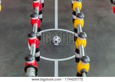 foosball table soccer .sport teame football players