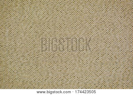 Vintage linen fabric with brilliance golden lurex. Texture of natural raw material for the background.