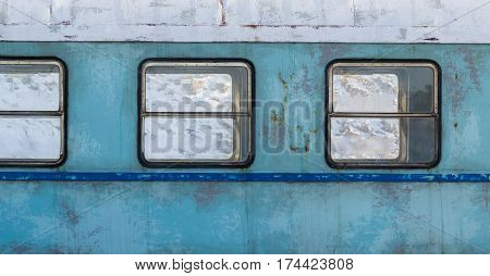Old Train Carriage